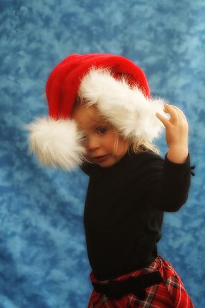 Chloe Christmas Portraits