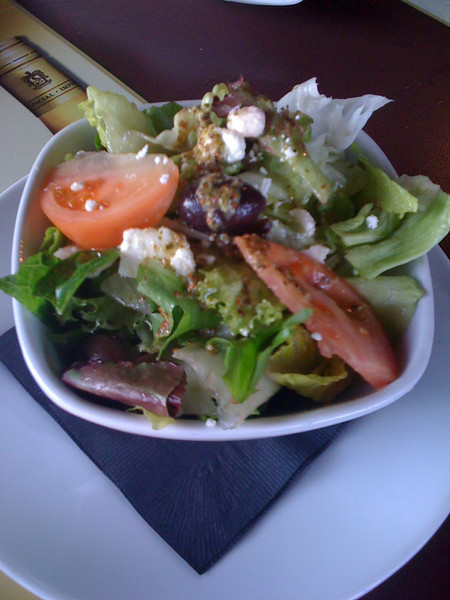 This is a SIDE salad?