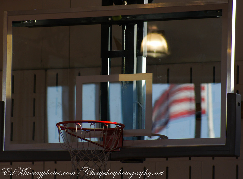 Old Glory Backboard: I was at my daughter's school (In the gym) and I noticed the reflection of the flag in the backboard. Thank you so much for all of your visits and kind words!!! I'm going to be away for a couple of days for the holiday! Have a great holiday and I'll see you next week!!!