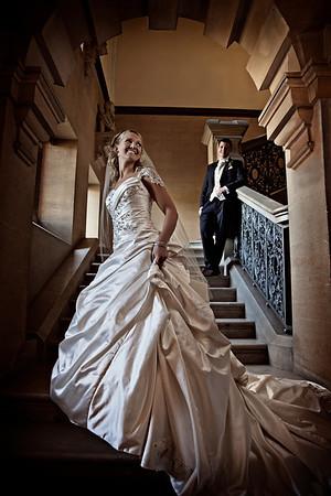 Katrina and Kevin's Harlaxton Manor Wedding Photography