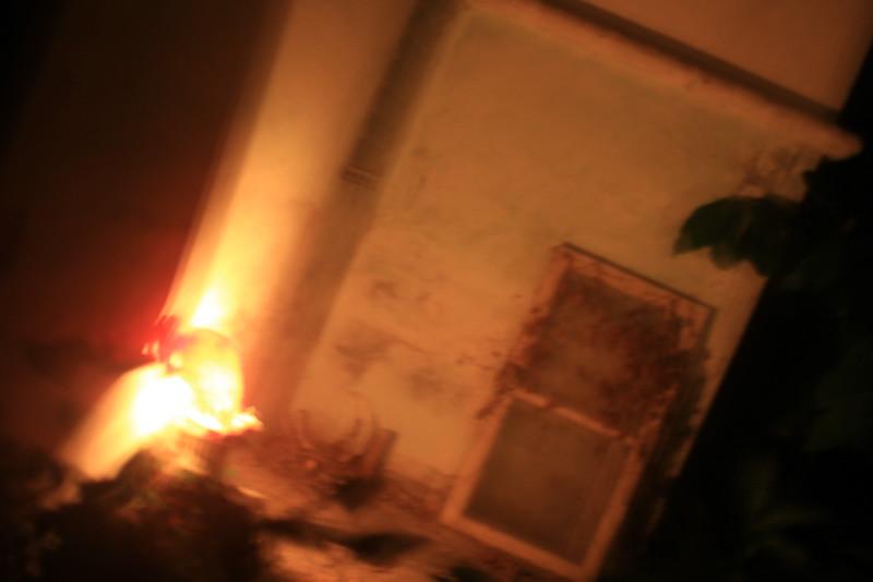 Property art wih Dani, night 1