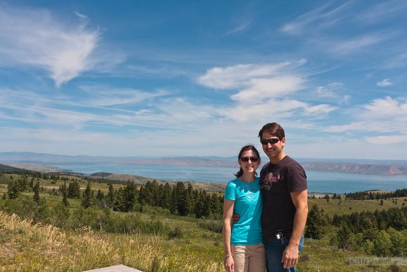 Bear Lake, UT on the way to Jackson Hole