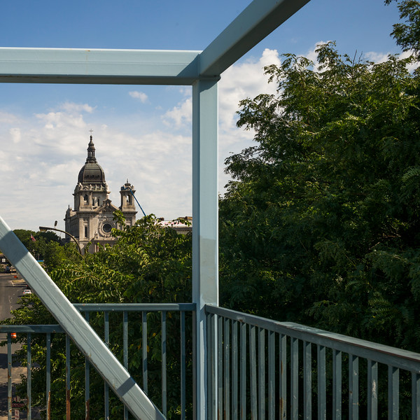 View of Basilica of Saint Mary in Minneapolis, Hennepin County, Minnesota, USA
