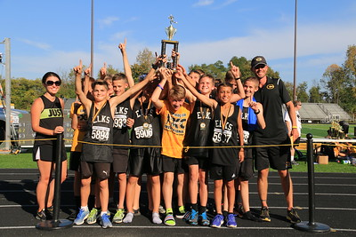 2017 Centerville MS Cross Country