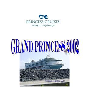 Cruise - Grand Princess 2002