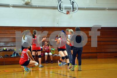 Allen Jr. High, Volleyball Championship Game, Oct. 2, 2014