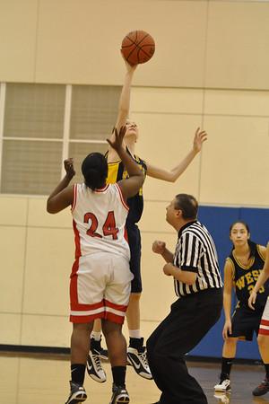 Lebanon vs. West Albany Girls Basketball frosh/JV/varsity