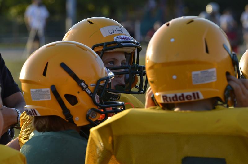 Wildcats vs Raiders Scrimmage 238.JPG