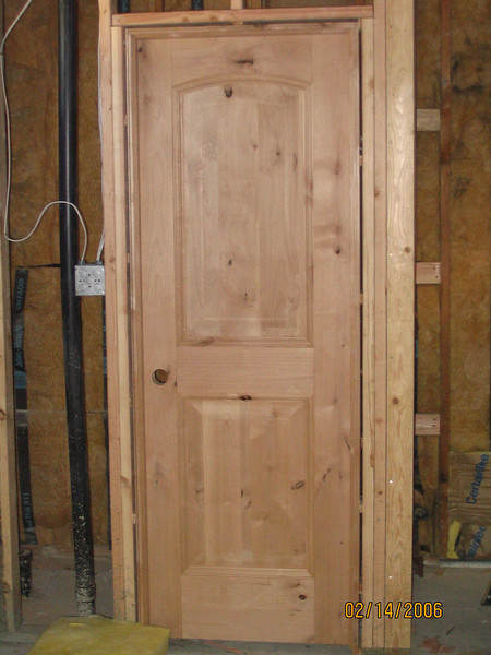 Beautiful doors, especially once they're stained and finished.