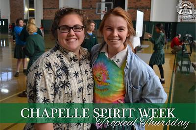 Spirit Week - Tropical Thursday