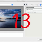 How to use the Watermark Editor in Adobe ® Lightroom