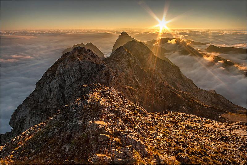 Sunrise on Planjava