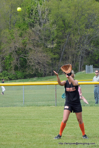 Jonesville vs Athens Softball