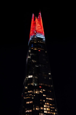 9/12/19 - The Shard Christmas Lights