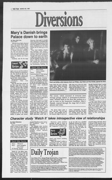Daily Trojan, Vol. 119, No. 50, March 26, 1993