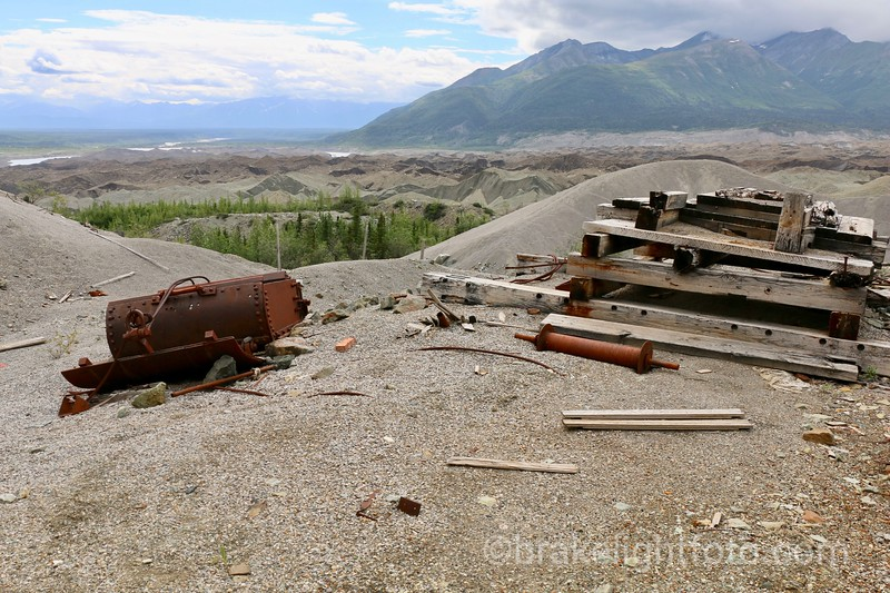Tailings, Garbage & the Kennecott Glacier