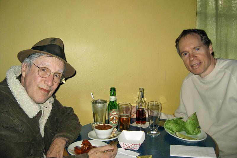 Larry Lebin, FL, at The Corner bar/deli in Lock Haven PA. Feb 13 2010