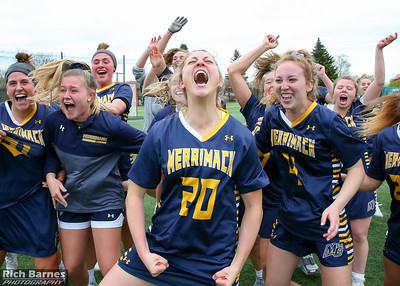 NCAA WLax: Merrimack at Le Moyne(NE 10 Final); 5/5/19