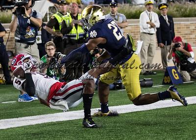 Notre Dame vs UGA 9-9-17