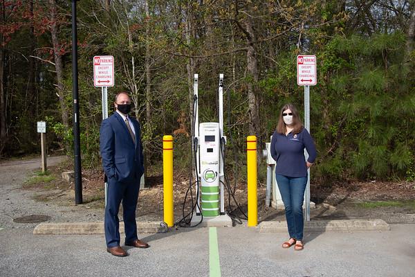 SMECO Charging Station at Laurel Springs Park