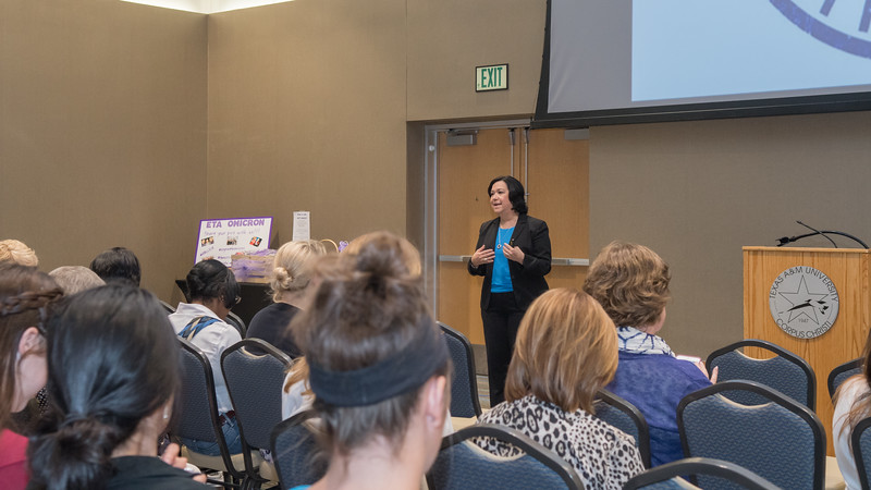 The College of Nursing and Health Sciences Adele Bemis Leadership Lecture Series featured Keynote Speaker Nora Frasier, Vice President and Chief Nurse Officer at Magnet-recognized Methodist Mansfield Medical Center.  Click on the link to view more photos from this event: http://bit.ly/2GEBRcl