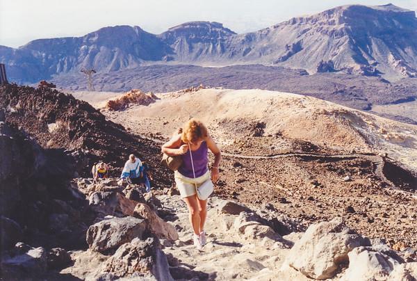 Mount Teide in Tenerife (pre DSLR)