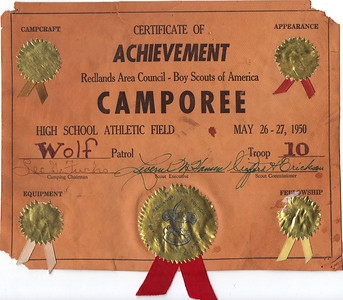 Troop 3 Historical Documents