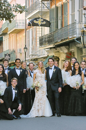 Aliisa + Sam | New Orleans French Quarter Wedding