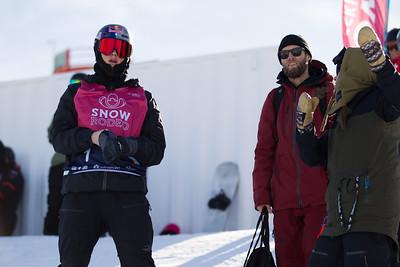 Snowboard Halfpipe Training Day