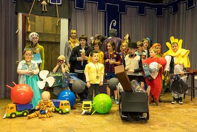 Kindercarnaval 2015 - Playback en prijsuitreiking