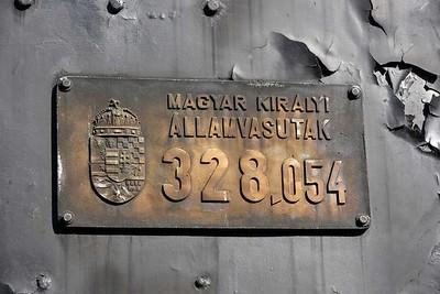 Hungarian Railway Museum, Budapest, 2018
