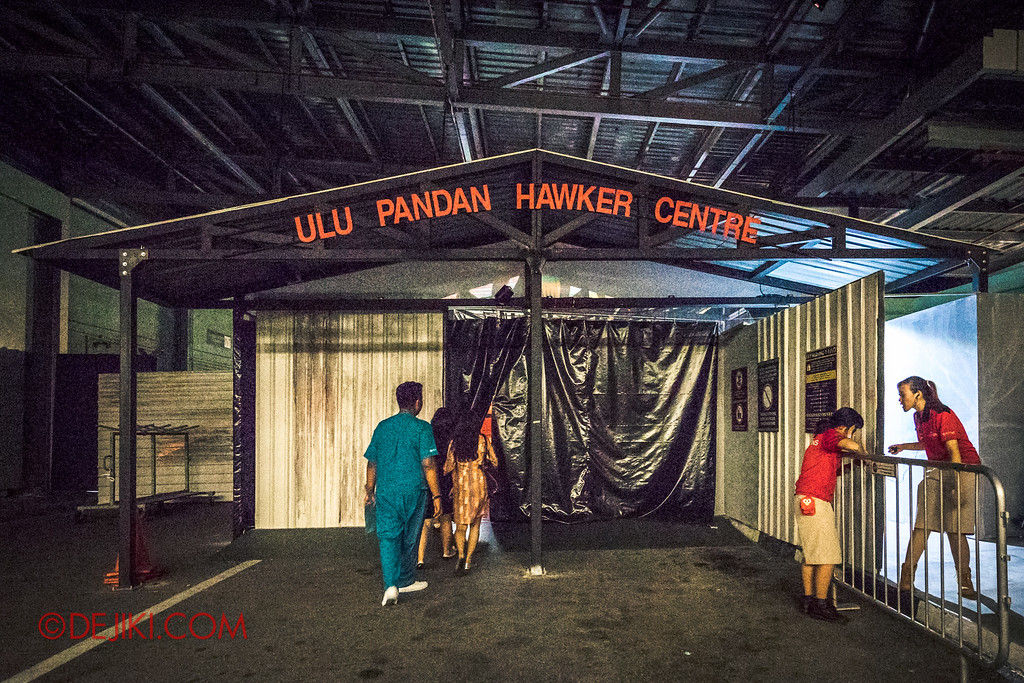 Halloween Horror Nights 6 - Hawker Centre Massacre / Outside Ulu Pandan