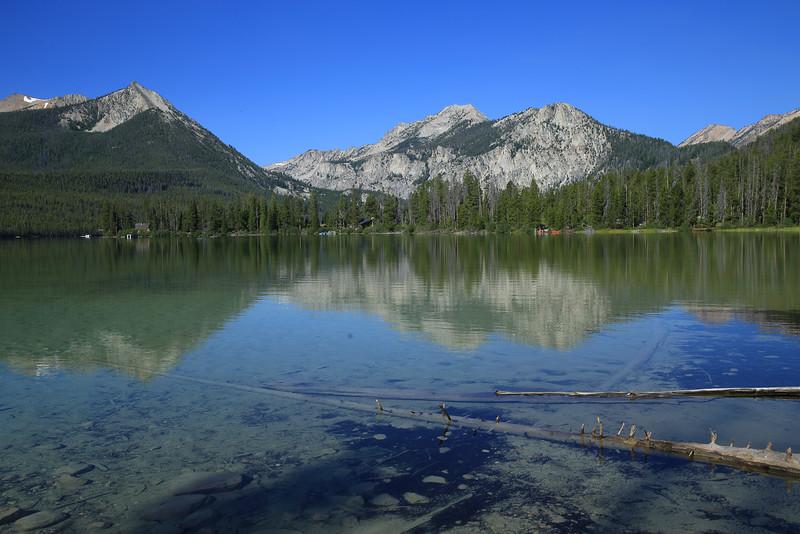 Pettit Lake in the Sawtooth Mountains of Idaho.