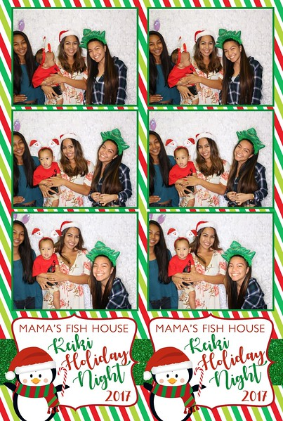 Mama's Fish House Keiki Holiday Party 2017