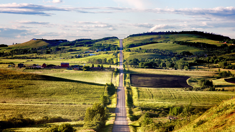 Longview backroads