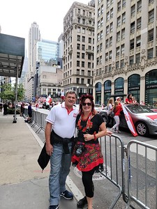 NY, New York - The Pulaski Parade Day. 2021