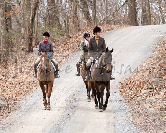 Snickersville Hounds at Frog Hollow 2-28-18
