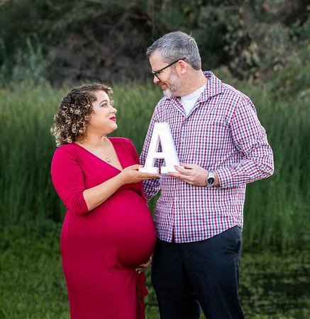 Maternity session at Vasona Park Los Gatos