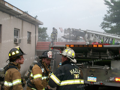 Luzerne County - Hazle Twp. - Commercial Fire - 7/19/2012