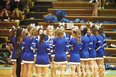 10-13-2018 Sherwood High School Varsity Cheerleading at the Walt Whitman 4th Annual Cheerleading Competition, Photos by Jeffrey Vogt Photography