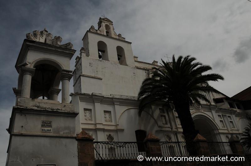 Santo Domingo Church - Sucre, Bolivia