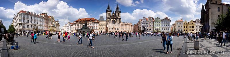 Prague - Old Town & Prague Castle, Czech Republic - June 2016