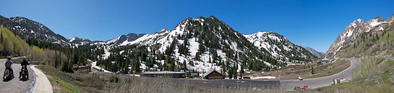 Alta - end of road in Little Cottonwood Canyon