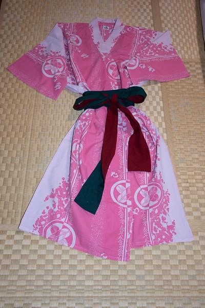 Kimono on Tatami Mat