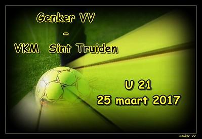 Genker VV - VKM Sint Truiden U21  25/03/2017