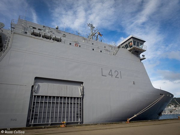 HMNZS Canterbury 2014