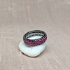 3.20ctw pink Sapphire Eternity Band, by Assil 11
