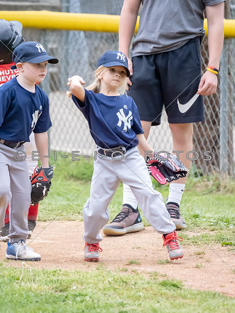 20190425 T Ball Yankees