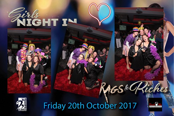 Girls Night In - Rags To Riches - 20 October 2017