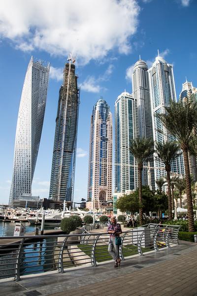 Marina, Dubai - January, 2016